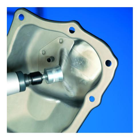 Osborn Kegelbürste D115x15 mm, Gewinde M14x2,0 gezopfter rostfreier Stahldaht T20