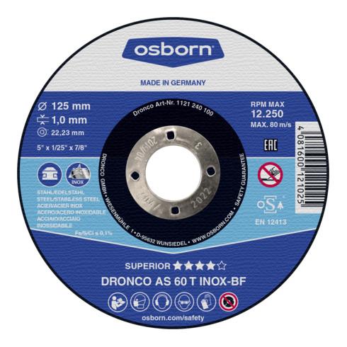 Osborn Trennscheibe AS60T Inox 115x1,0x22,23 mm T41