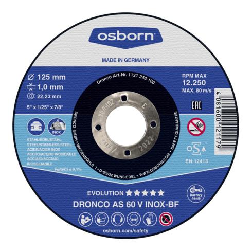 Osborn Trennscheibe AS60V Inox 125x1,0x22,23 mm T41