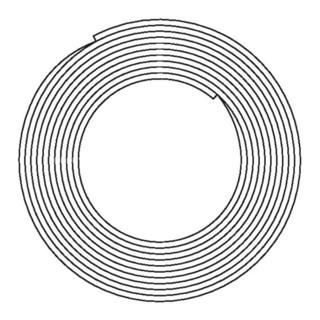 Oventrop Mehrschicht-Verbundrohr Copipe HSC PE-RT/AL/PE-RT, weiß 16 x 2 mm, 100 m Ring