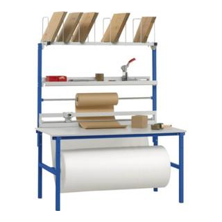 Packtisch-Set B 2000 x T 800 mm Aufbauten Variante 2