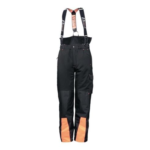 Pantalon à ceinture forestier softshell taille M noir/orange 96 % PES / 4 % EL