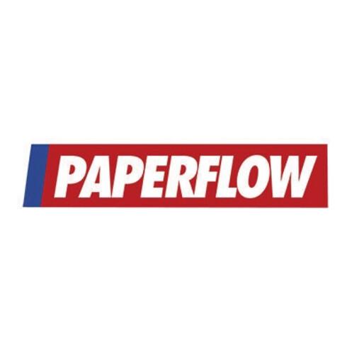 Paperflow Prospekthalter 4060.02 DIN A4 quer 4Fächer lichtgrau