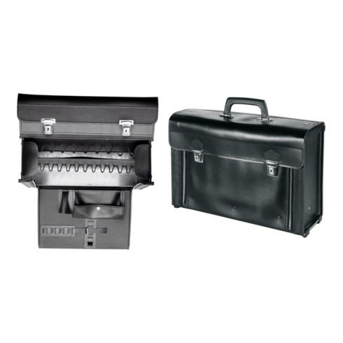 Parat Leder-Montagetasche Mit Mittelwand, 400 mmx140 mmx280 mm