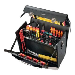 Parat Rindleder Werkzeugtasche HDPE, 460x210x340mm