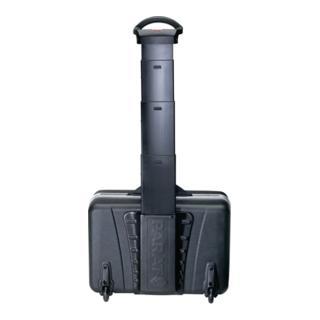 Parat Schalenkoffer X-ABS, 460x165x310mm mit Alu.-Rahmen, schwarz