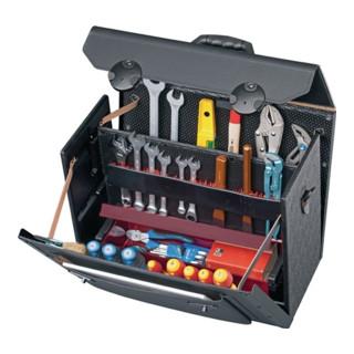 Parat Werkzeugtasche Rindleder, teilaufklappbar, 450x190x340mm