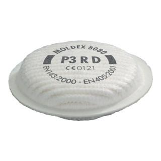 Partikelfilter 8080 P3RD b.30xAGW-Wert MOLDEX EN143:2000+A1:2006