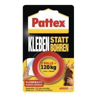 Pattex Kleben statt Bohren Klebeband 1,5m