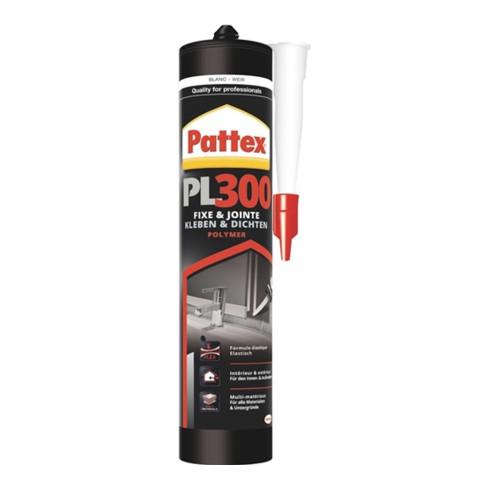 Pattex Montagekleber PL 300 PPL3W weiß 300ml witterungsbest.