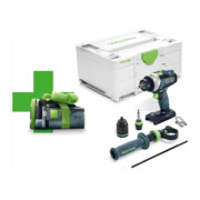 Perceuse-visseuse à percussion sans fil TPC 18/4 I-Basic-Promo 2021 QUADRIVE Festool