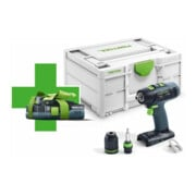 Perceuse-visseuse sans fil T18+3 Basic-Promo 2021 Festool