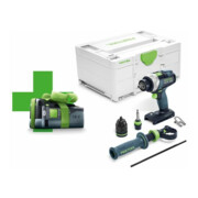 Perceuse-visseuse sans fil TDC 18/4 I-Basic-Promo 2021 QUADRIVE Festool
