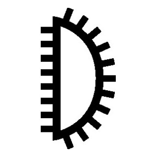 PFERD CORRADI-Nadelfeile 105 160 H0