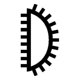PFERD CORRADI-Nadelfeile 105 160 H1