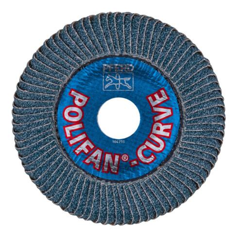 PFERD Fächerschleifsch.CURVE L 115mm K 40 gerade