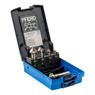 PFERD Kegelsenker-Set HSS DIN 335 C90 Grad 5