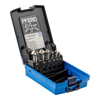 PFERD Kegelsenker-Set HSSE DIN 335 C90 Grad, Außendurchmesser 6 mm