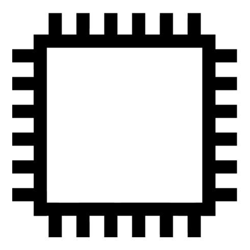PFERD PF Vierkantfeile D7261 D 150mm H1