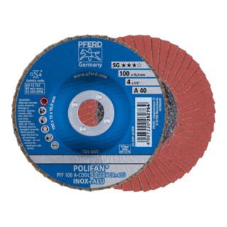PFERD POLIFAN-Fächerscheibe PFF A-COOL SG INOX+ALU/16,0
