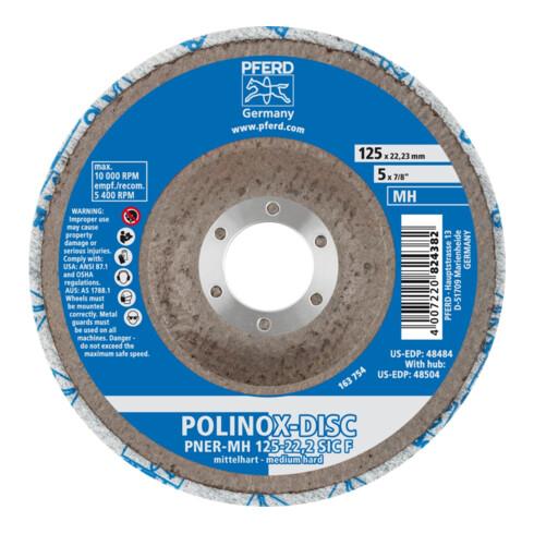 PFERD POLINOX-Kompaktschleif-Disc DISC PNER-MH 125-22,2 SiC F