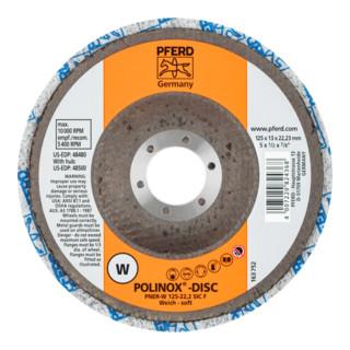 PFERD POLINOX-Kompaktschleif-Disc DISC PNER-W 125-22,2 SiC F
