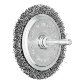 PFERD Rundbürste mit Schaft, ungezopft RBU 7004/6 ST 0,20