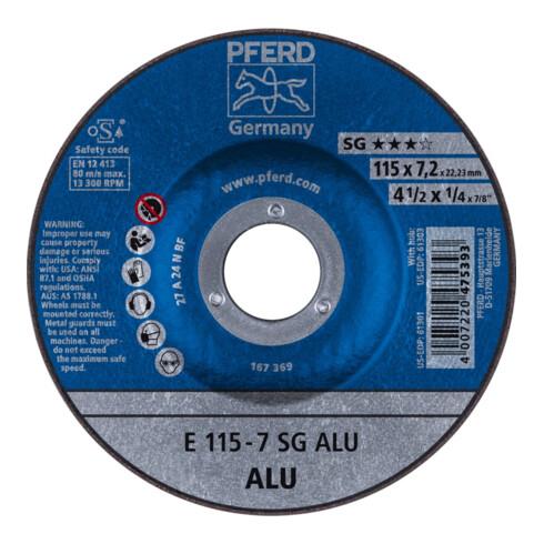 PFERD Schruppscheibe E 115-7 SG ALU