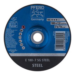 PFERD Schruppscheibe E 180-7 SG STEEL