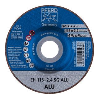 PFERD Trennscheibe EH 115-2,4 SG ALU