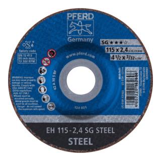 PFERD Trennscheibe EH 115-2,4 SG STEEL