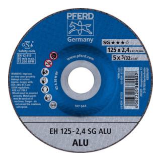PFERD Trennscheibe EH 125-2,4 SG ALU