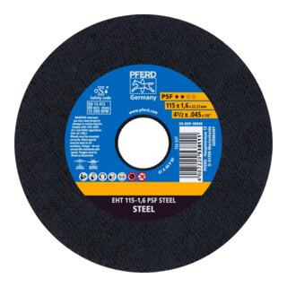 PFERD Trennscheibe EHT 115-1,6 PSF STEEL