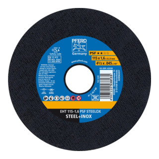 PFERD Trennscheibe EHT 115-1,6 PSF STEELOX