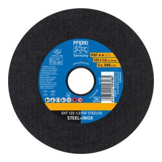 PFERD Trennscheibe EHT 125-1,0 PSF STEELOX (10)
