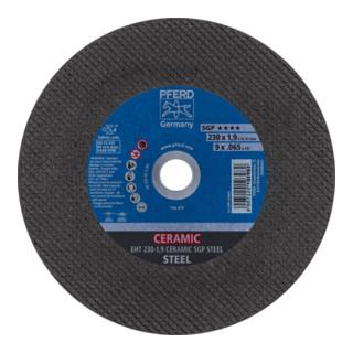 PFERD Trennscheibe EHT 230-1,9 CERAMIC SGP STEEL