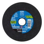 PFERD Trennscheibe für Stahl und Edelstahl (INOX) EHT 125-1,0mm BOX