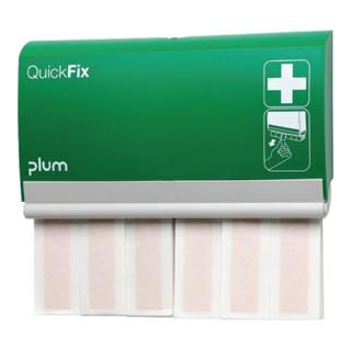 Pflasterspender QuickFix B233xH.133xT.30 m.2x30 elastischen Fingerverbänden PLUM