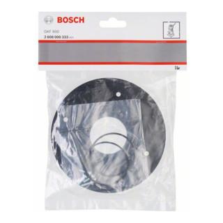 Plaque de base Bosch ronde Accessoires pour fraiseuse de chants Bosch GKF 600 Professional