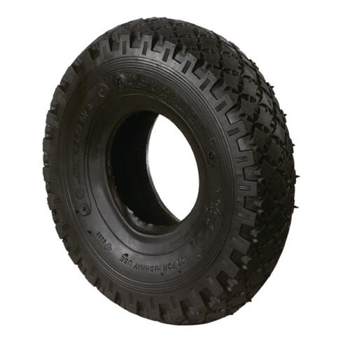 Pneu de rechange p. roue gonflable D. 200 mm prof.rainuré