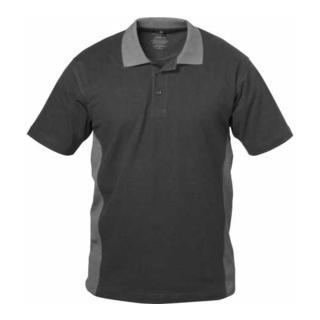 Elysee Poloshirt Sevilla schwarz/grau