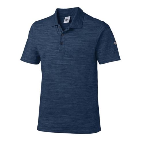 Poloshirt 1712  space nachtblau BP blau nachtblau