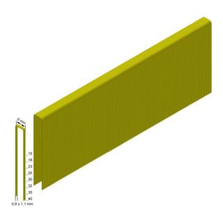 Prebena Heftklammern ES35CNKHA verzinkt geharzt Länge 35 mm
