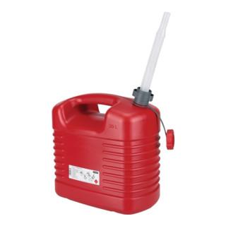 Pressol Kraftstoffkanister Inh.20l L385xB229xH410mm rot