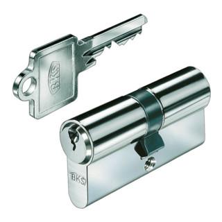 Profil-Doppelzylinder PZ 8802 27/35mm NuG eins. Anz. Schlüssel: 3 versch.-schl.