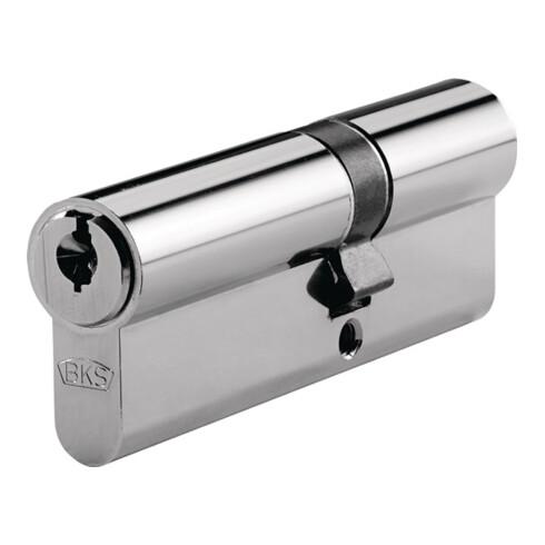 Profildoppelzylinder helius 4212 31/40mm NuG beids.Anz.Schlü.5 versch.-schl.BKS