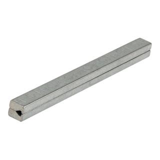 Profilstift 8x160mm Ausführung Länge 160mm Vierkant 8 mm Eisen verzinkt