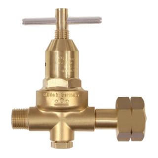 Propan Kleindruckregler 0,5-6bar W21,8x1/14Zoll ohne Manometer