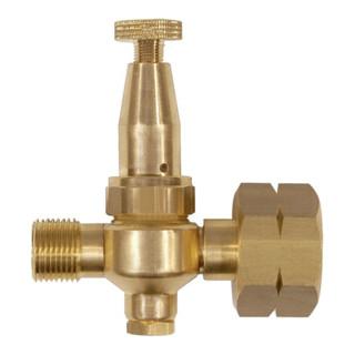 Propan Kleindruckregler Mini 0,5-4bar W21,8x1/14Zoll ohne Manometer