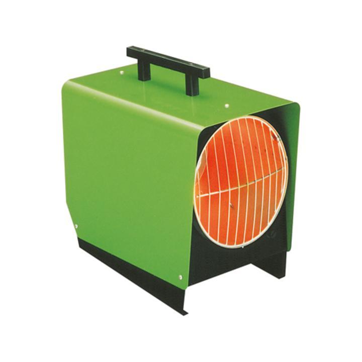 Propangas-Heizautomat, 230/50V/Hz, Nennwärmeleistung 8,5-15,5 kW, Luftl. 600 cbm/h, LxBxH 650x320x51  0 mm